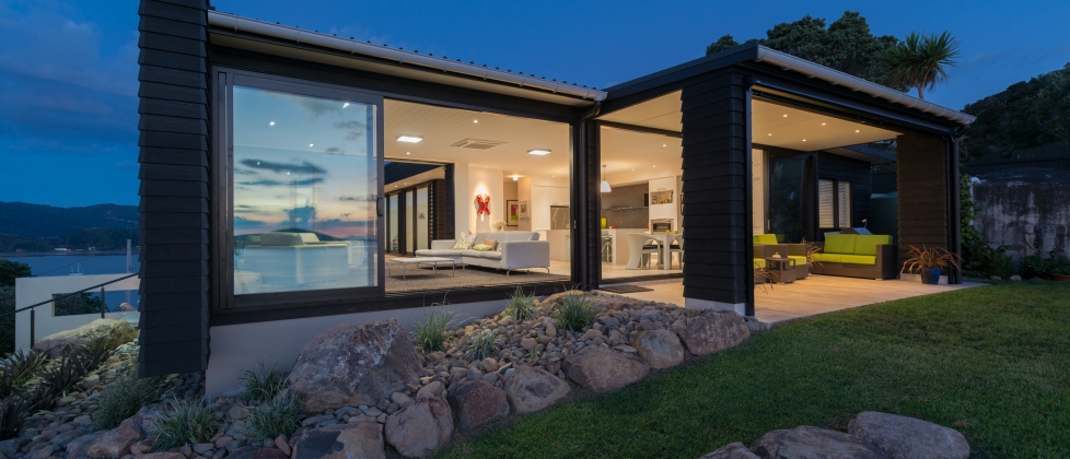 Residential design house architecture for Coastal home designs nz